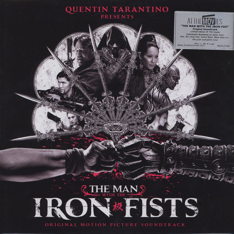 V.A. - OST The Man With The Iron Fists Silver Vinyl Edition