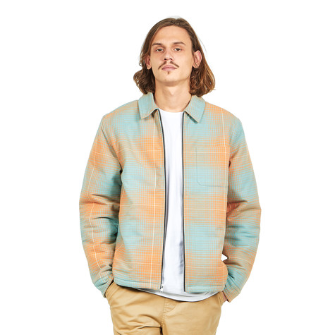 Stüssy - Zip Up Plaid Shirt