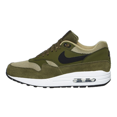 size 40 7bfdc 55072 Nike. WMNS Air Max 1 (Olive Canvas   Black   Neutral Olive   White)