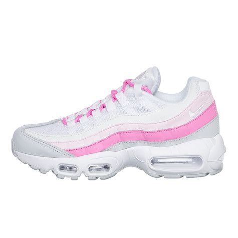 328e63822cecd Nike. WMNS Air Max 95 Essential (White   White   Psychic Pink   Pure  Platinum)
