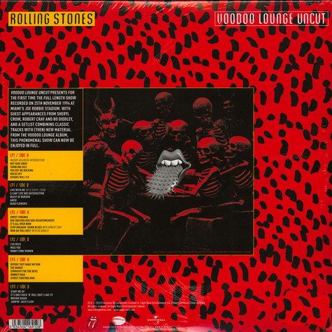 Rolling Stones,The - Voodoo Lounge Uncut