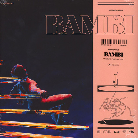 Hippo Campus - Bambi Blue Vinyl Edition