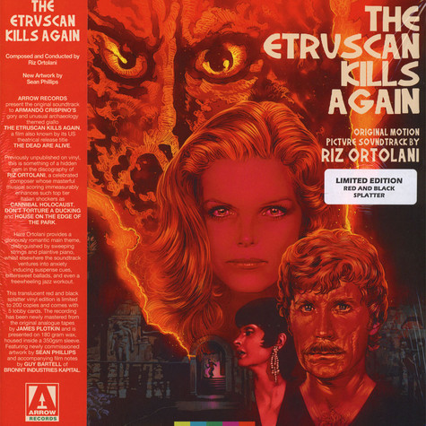V.A. - OST Etruscan Kills Again Red & Black Vinyl Edition
