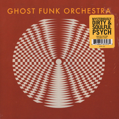 Ghost Funk Orchestra - Walk Like A Motherfucker / Isaac Hayes Colored Vinyl Edition