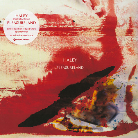 Haley - Pleasureland White/Red Vinyl Edition