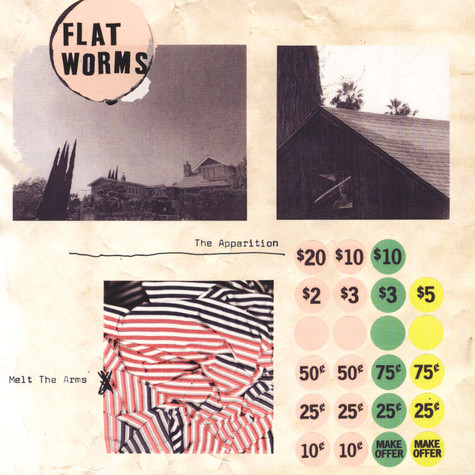 Flat Worms - The Apparition / Melt In The Arms