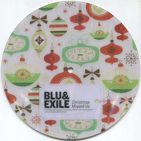 Blu & Exile - Christmas Missed Us