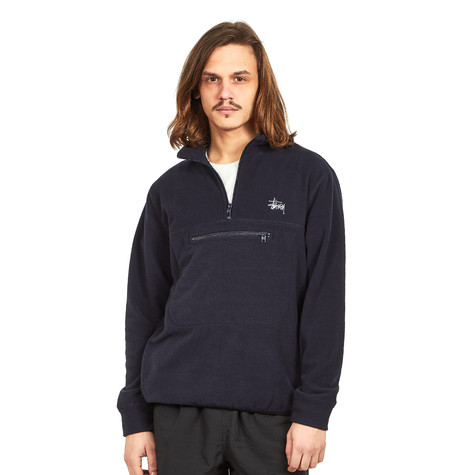 Stüssy - Polar Fleece Mock Neck Sweater