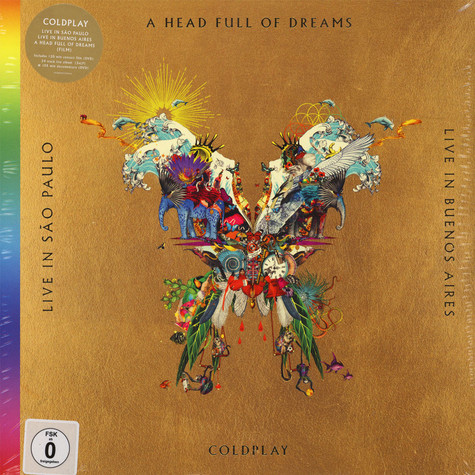 Coldplay - Live In Buenos Aires / Live In São Paulo / A Head Full Of Dreams (Film)