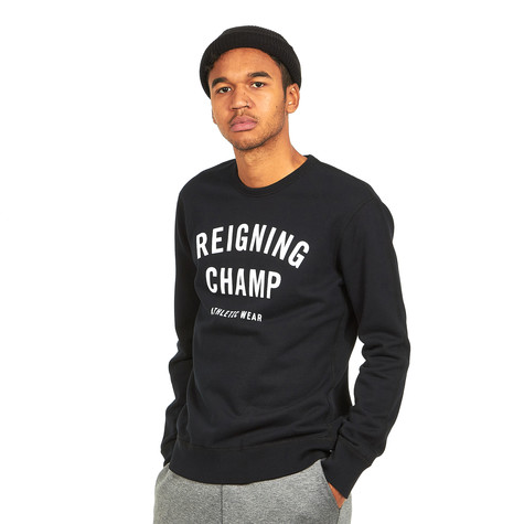 Reigning Champ - Gym Logo Crewneck Sweater