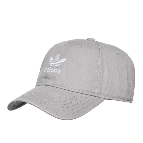 a7198e1258c adidas - Adicolor Washed Cap (Mgh Solid Grey   White)