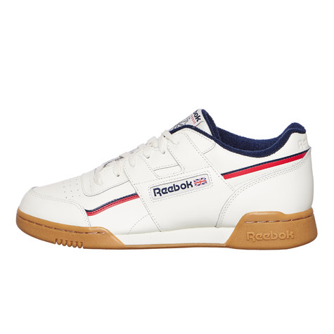 1ecca8b0aafe8 Reebok - Workout Plus MU (Classic White   Navy   Red)