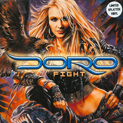 Doro - Fight Splattered Vinyl Edition