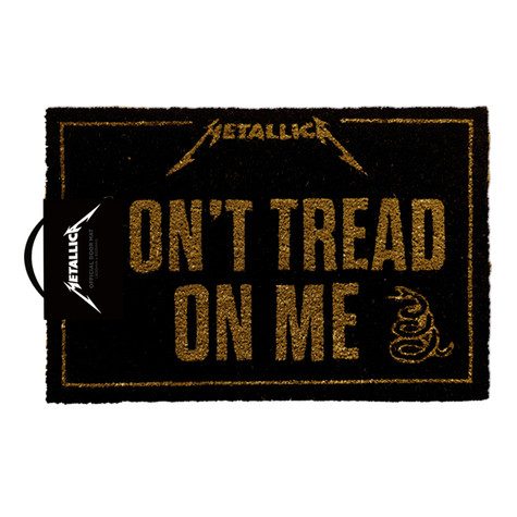 Metallica - Don't Tread On Me Doormat