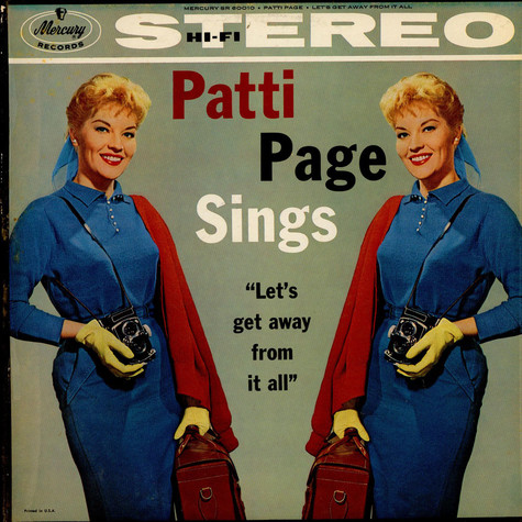 Patti Page - Let's Get Away From It All