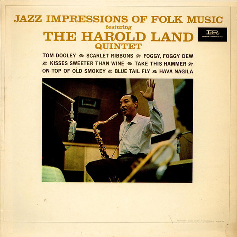 Harold Land Quintet - Jazz Impressions Of Folk Music