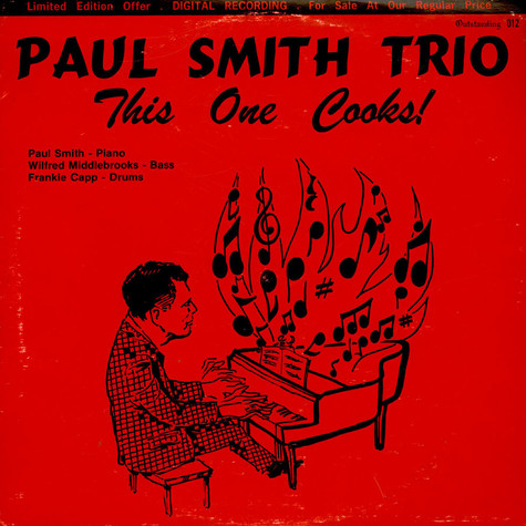 Paul Smith Trio, The - This One Cooks