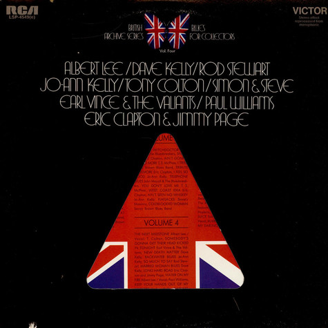 V.A. - British Blues Archive Series Vol. 4