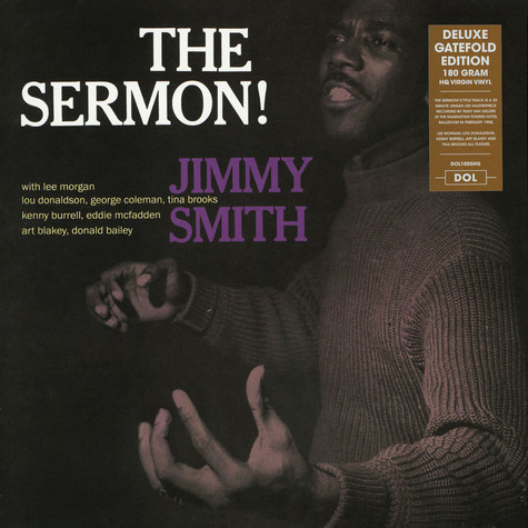 Jimmy Smith - The Sermon Gatefold Sleeve Edition