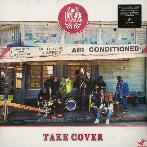 Hot 8 Brass Band - Take Cover EP