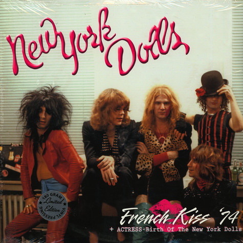 New York Dolls - French Kiss 74 + Actress - Birth Of The New York Dolls