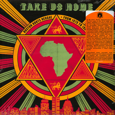 V.A. - Take Us Home: Boston Roots Reggae (1979-1988)
