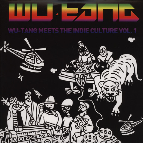 Wu-Tang Meets The Indie Culture - Volume 1 Purple Vinyl Edition