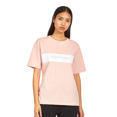 Fred Perry - Printed Panel T-Shirt