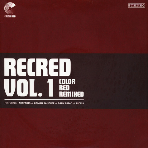V.A. - Recred Volume 1: Color Red Remixed