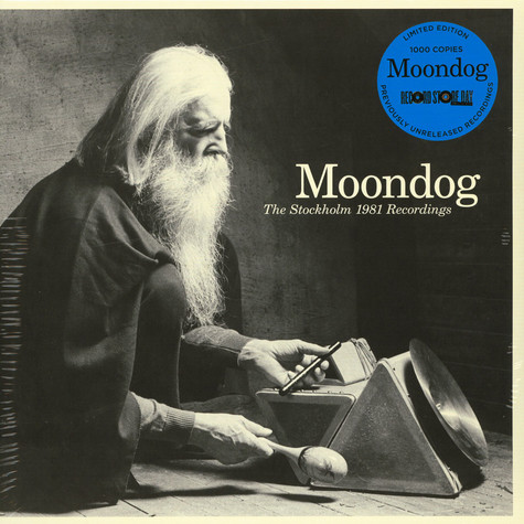 Moondog - The Stockholm 1981 Recordings Record Store Day 2019 Edition