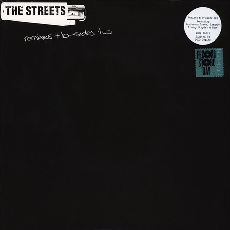 Streets, The - Remixes & B-Sides Too Record Store Day 2019 Edition