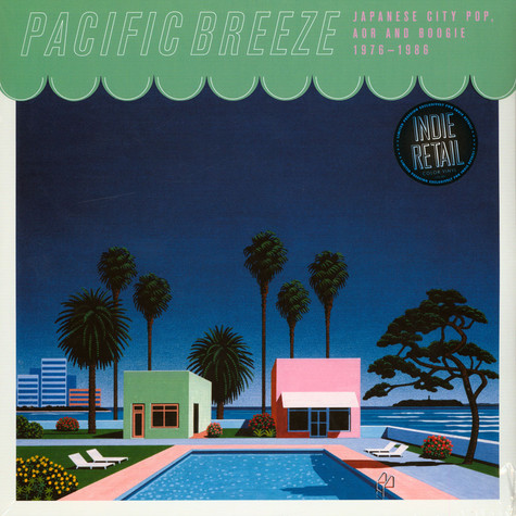 V.A. - Pacific Breeze: Japanese City Pop, AOR & Boogie 1976-1986 Pink Vinyl Edition