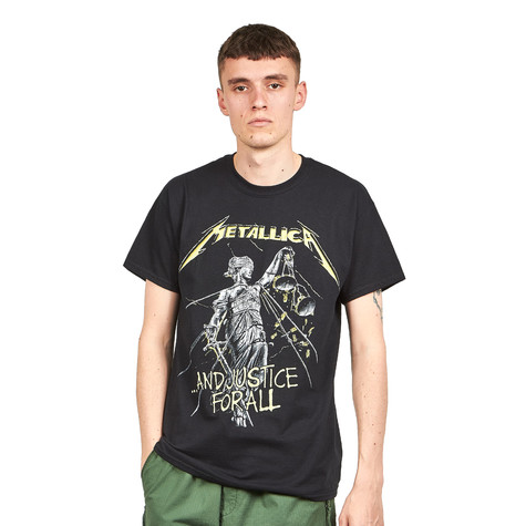 Metallica - And Justice For All Tracks T-Shirt