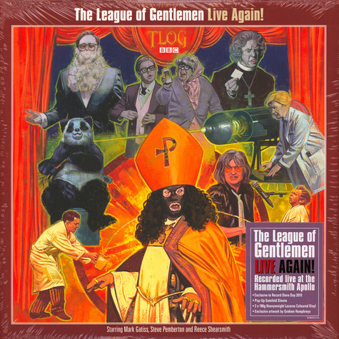 League Of Gentlemen - Live Again Colored Vinyl Record Store Day 2019 Edition
