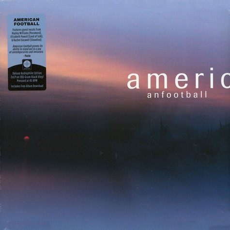 American Football - American Football LP 3 Deluxe Edition