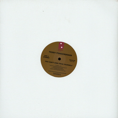 Teddy Pendergrass - You Can't Hide From Yourself / The More I Get, The More I Want Record Store Day 2019 Edition