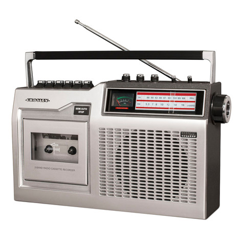 Crosley - CT 200 Cassette Player