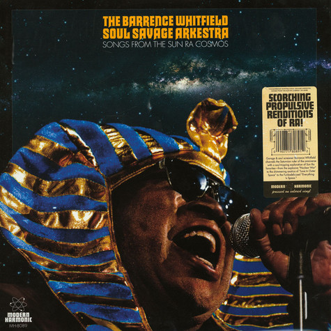 Barrence Whitfield Soul Savage Arkestra - Songs From The Sun Ra Cosmos