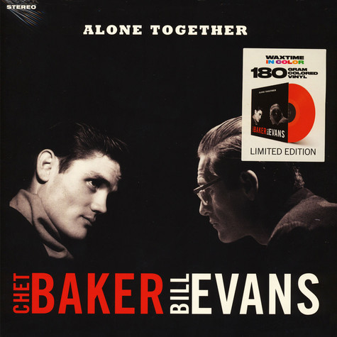 Chet Baker / Bill Evans - Alone Together Solid Red Vinyl Edition