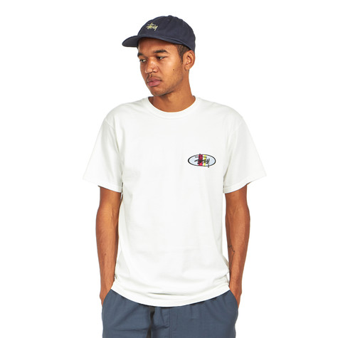 Stüssy - Two Bar Oval Pigment Dyed Tee