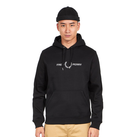Fred Perry - Graphic Hooded Sweat