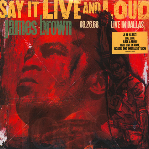James Brown - Say It Live And Loud: Live In Dallas