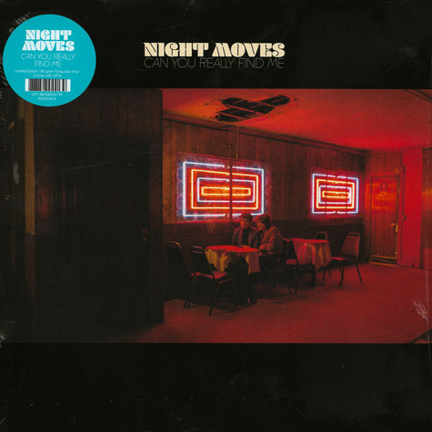 Night Moves - Can You Really Find Me Turquoise Vinyl Edition