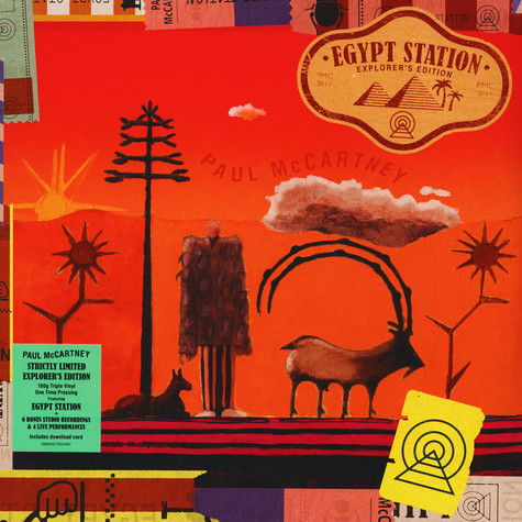 Paul McCartney - Egypt Station (Explorer Edition)