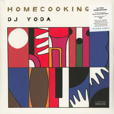 DJ Yoda - Home Cooking Clear Vinyl Edition