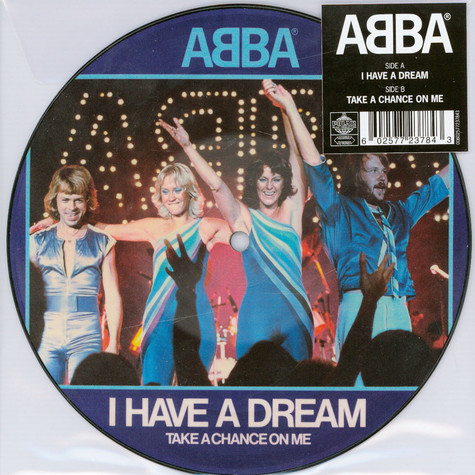 """ABBA - I Have A Dream Limited 7"""" Picture Disc Edition"""