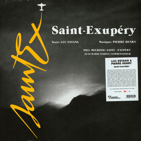 Luc Pestang & Pierre Henry - Saint-Exupery