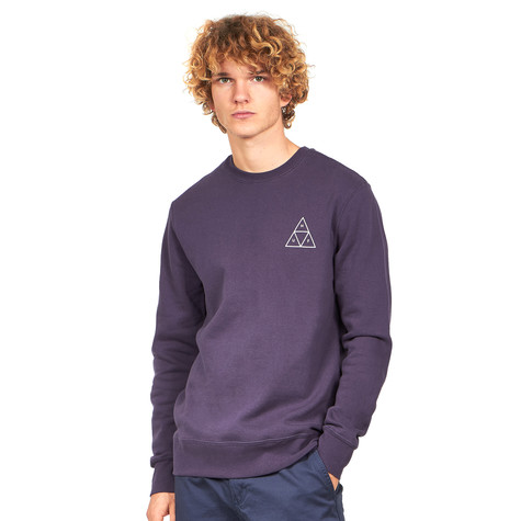 HUF - Essentials Triple Triangle Crew Sweater