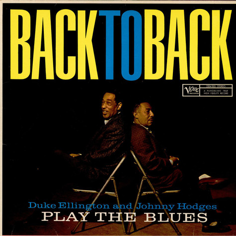 Duke Ellington & Johnny Hodges - Back To Back (Duke Ellington And Johnny Hodges Play The Blues)