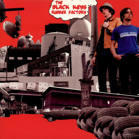 Black Keys, The - Rubber Factory